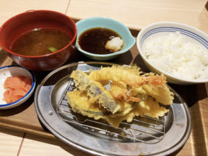 上天ぷら定食¥924_2