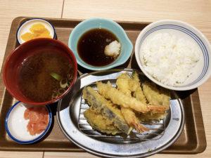上天ぷら定食¥924