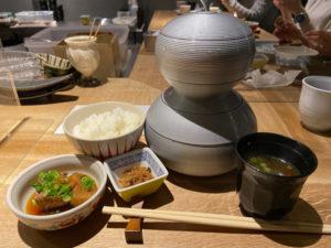 「日本料理 美松」瓢箪弁当 1,000円(税込)