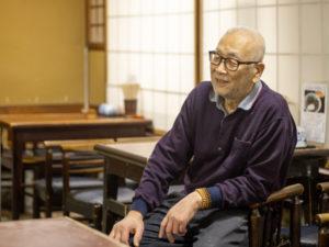 「大名そば」社長の西村さん