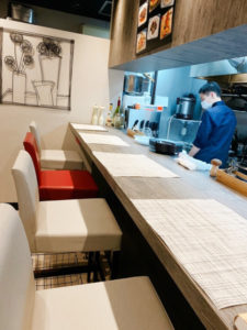 「曽和料理店」内観