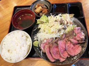ローストビーフ定食¥890_2