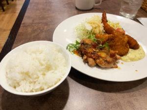Aランチ 910円(税込)「洋食ふくもと」