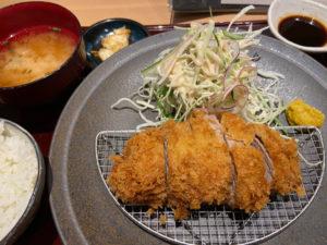 ミルフィーユカツ(¥1,210税込)「すき焼き 串カツ はるな 本町店」