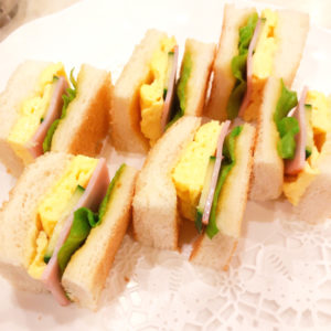 「喫茶オーシャン」サンドイッチ