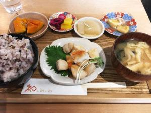 揚げどりとみぞれポン酢の定食 1000円(税込)「和レ和レ和」