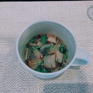 滋味深いスープでごわす