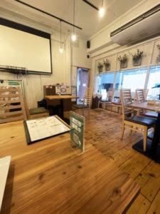 「cafe&bar ACTOR」内観