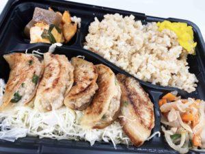 大根ギョーザ弁当¥650