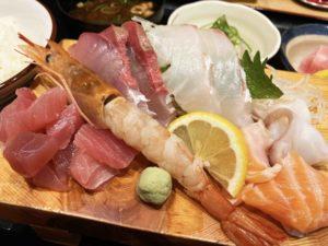 上さしみ定食¥990