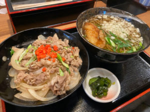 日替わり丼定食 800円(税込)「かなん」