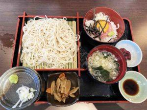 せいろそば&ミニ丼セット¥1,000