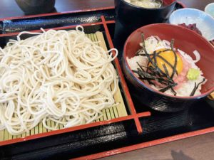 せいろそば&ミニ丼セット¥1,000_2