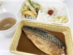 煮魚弁当¥900