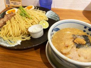 「四代目みさわ」チャーシューつけ麺 1,000円+大盛り210円(税込)