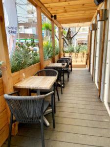 21年6/23オープン!「BAKERY&CAFE The.Terrace」テラス