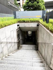 地下鉄御堂筋線本町駅14番出口から地下で直結